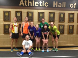 Indoor Track Workout