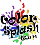color splash run logo